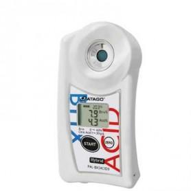 Réfractomètre numérique combiné brix acidité tomates : PAL-BX-ACiD3