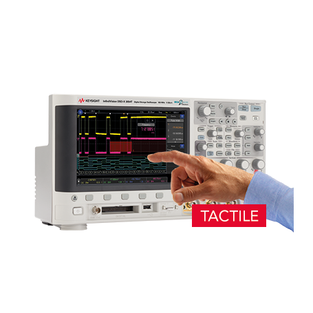 Oscilloscope à signaux mixtes 100MHz - 2 voies : MSOX3012T