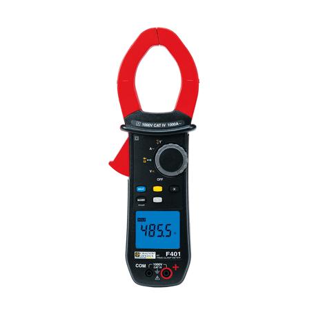 Pince multimètre 1000A TRMS AC : F401