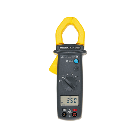 Pince multimètre compacte 400 A AC : MX350