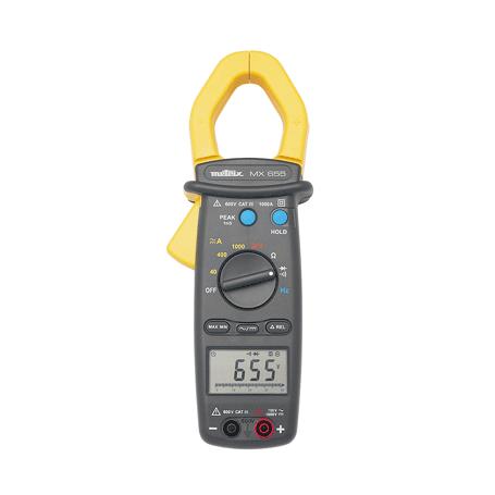 Pince multimètre TRMS 1000 A AC / DC : MX655