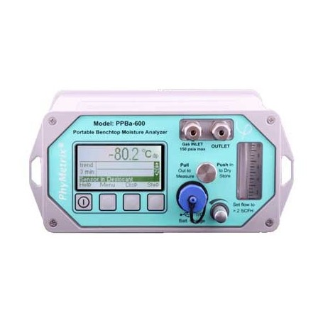Hygromètre laboratoire humidité et point de rosée gaz : PPBA