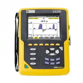 Analyseur de puissance triphasé haut de gamme : Qualistar+ C.A 8336