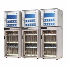 Respiromètre ISO 14855 pour biodégradabilité de solides ou liquides