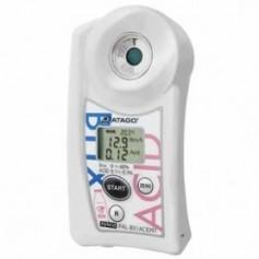 Réfractomètre numérique brix acidité pour lait : PAL-BX-ACID91