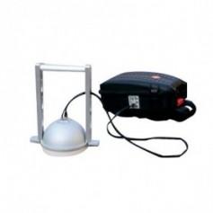 Respirometre portable pour flux de gaz du sol