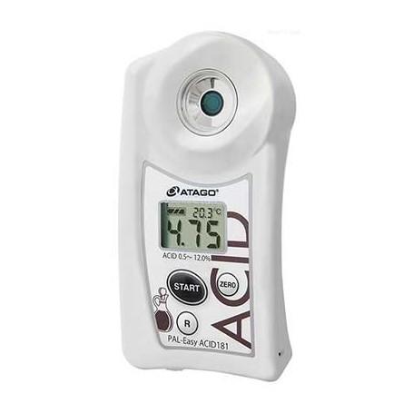 Réfractomètre numérique acidité acétique vinaigre : PAL-Easy ACID181