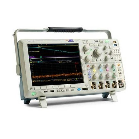Oscilloscope 4 voies 350 MHz avec analyseur de spectre optionnel : MDO4034C
