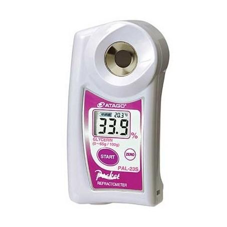 Réfractomètre numérique glycérine basse concentration : PAL-23S
