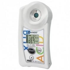 Réfractomètre numérique combiné brix acidité Multifruits : PAL-BX-ACID F5