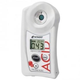 Réfractomètre numérique acidité tomate : PAL-EASY-ACID3
