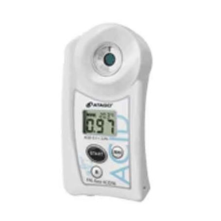 Réfractomètre numérique acidité yaourt : PAL-EASY-ACID96 MASTER KIT