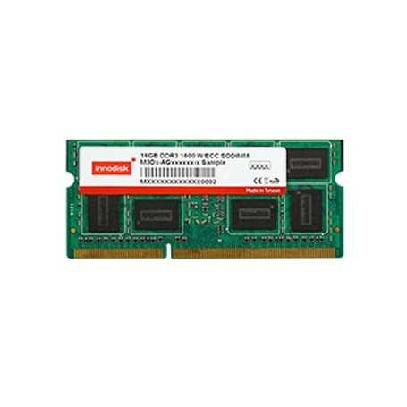 Unbuffered w/ECC 1600Mhz/1333Mhz/1066Mhz 204pin : DDR3 SODIMM