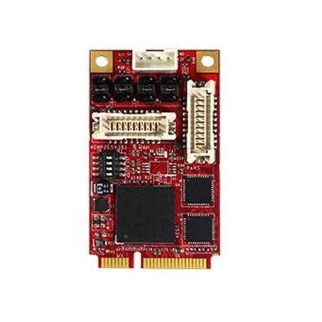 PCI Express 2.0 x 1 RS-232/422/485 DB-9 x 4 : EMP2-X404