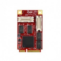 PCI Express 2.0 x 1 RS-232 DB-9 x 4 : EMP2-X403