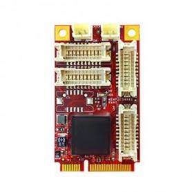 PCI Express 2.0 x 1 RS-232/422/485 DB-9 x 8 : EMP2-X801