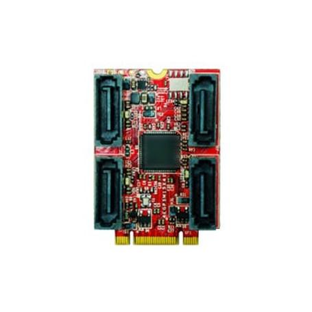 PCI Express 2.0 SATA III SATA 7pin x 4 : EGPS-3401