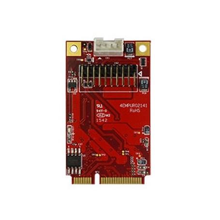 PCI Express 2.0 USB 3.0 19 Pin header : EMPU-3201