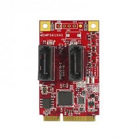 PCI Express 2.0 SATA III SATA 7pin x 2 : EMPS-3201
