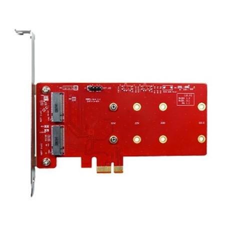 PCI Express 2.0 SATA III M.2 Key-B x 2 : ESPS-3201