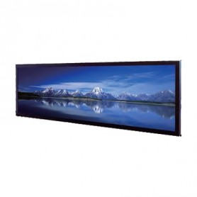 6,2'' moniteur LCD panoramique/stretch 1000 cd/m² 1024x250 : SSH0635-E