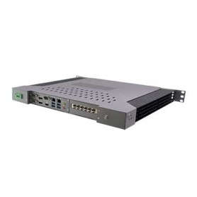 "19"" 1U Rack-mount Intel Skylake Fanless Rugged System -20 +60°C : ROC249A"