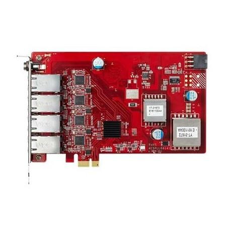 Carte réseau PCIe 4 ports PoE isolés : ESPL-G4P1