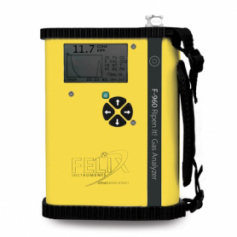 Analyseur portable C2H4, CO2 et O2 maturation murissement : F-960