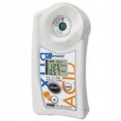 Réfractomètre numérique combiné brix acidité prune : PAL-BX-ACID11