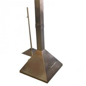 Echantillonneur statique portable à capot : SH