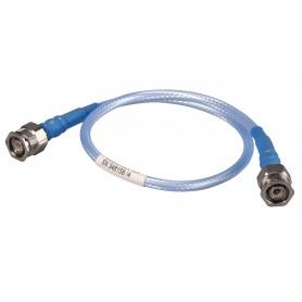 Câble assemblé coaxial 26,5 GHz : SUCOFLEX 104