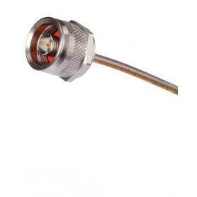 Câble coaxial 18 GHz RF : Mini 141 N