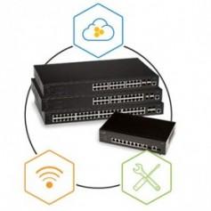 Switch pour accès filaire et sans fil avec gestion dans le cloud : SR2208P