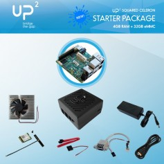 UP Board Squared Celeron 4GB 32GB PACK