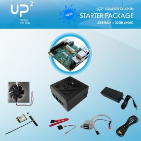 UP Board Squared Celeron 2GB 32GB PACK