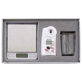 Réfractomètre numérique brix acidité pour fraise : PAL-EASY-ACID4 MASTER KIT