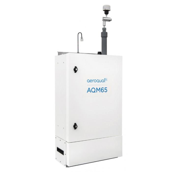 Station surveillance fixe qualité air ambiant : AQM65 | AEROQUAL