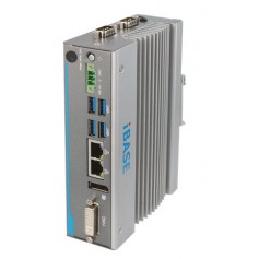 Ultra-Compact Gateway DIN-Rail Fanless System with Intel Atom : AGS100