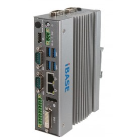 Ultra-Compact Gateway DIN-Rail Fanless System with Intel Atom : AGS102