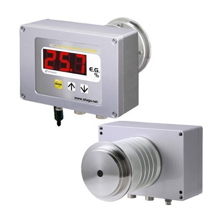 Réfractomètre en continu peroxyde hydrogene H2O2 : CM-800 H2O2