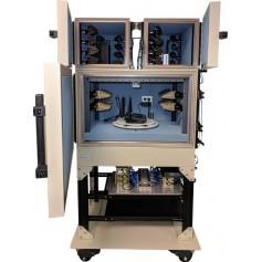 Banc d'essai anéchoïque pour test systèmes Wifi : OctoBox testbed