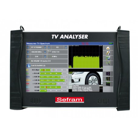 Mesureur de champ terrestre DVB-T, DVB-T2 : Modèle 7885