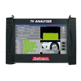 Mesureur de champ terrestre, câble et satellite DVB-T, DVB-T2 : 7882