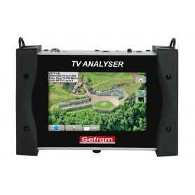 Mesureur de champ terrestre (DVB-T/T2) et satellite (DVB-S/S2) : 7848