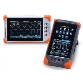 Oscilloscope Portable ulta compact 70MHz, 2 voies et avec écran tactile : GDS-307