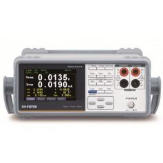 Wattmètre numérique monophasé programmable : GPM-8213