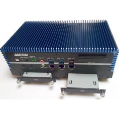 PC embarqué dual HDD/SSD RAID CPU INTEL 6ème Cel/i3/i5/i7/Xeon : BOXER-6639-A3