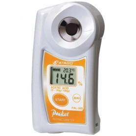 Réfractomètre numérique acide acétique : PAL-30S