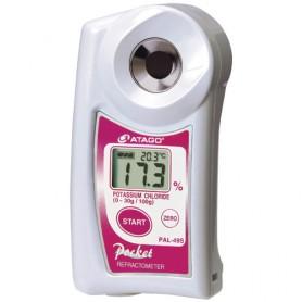 Réfractomètre numérique chlorure de potassium : PAL-49S