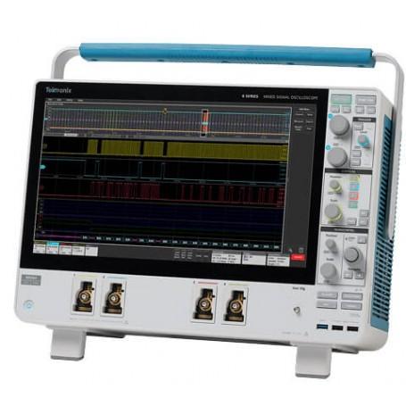 Oscilloscope à signaux mixte, 8 voies, 25 GS/s : Série MSO 6